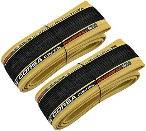 Vittoria Corsa Control G2.0 700x25C 320TPI  Clincher Bike Tire Para Skinwall