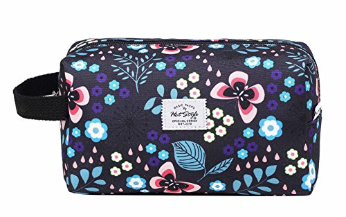 MIETTE Small Cosmetic Bag Cute Makeup Bag | Butterfly, Black