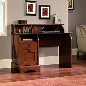 Amazon Com Sauder Graham Hill Desk Autumn Maple Finish