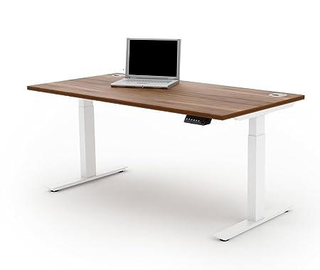 Ergo escritorios Libertad Altura Ajustable eléctrica Sit/Stand ...