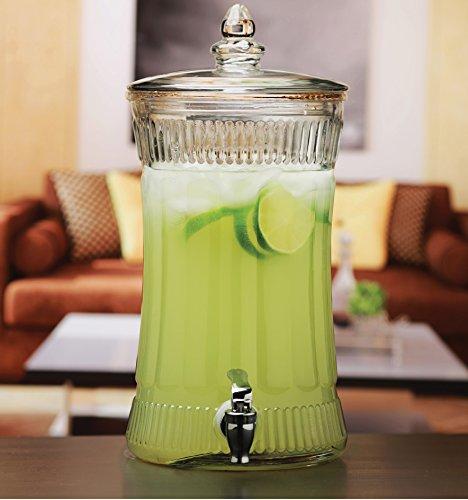 Circleware 69163 Aristocrat Beverage Drink Dispenser with Gl