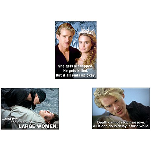 Bundle - 3 Items: The Princess Bride Refrigerator Magnets #01