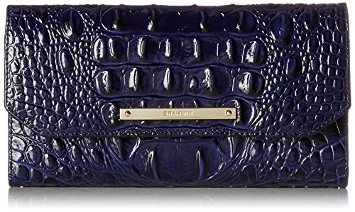 Brahmin Soft Wallet Checkbook Case, Ink/ Melbourne,  One Size by Brahmin