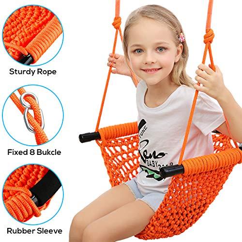 Best Prices! Hi-Na Kids Swing Seat Tree Swing Seat for Kids Rope Swing Swing Seat for Kids Indoor Sw...