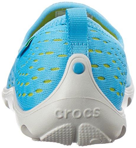 Blue Green Skimmer Bold Crocs Womens Volt DuetBusyDayXpressMesh Clogs q011F4