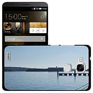 Print Motif Coque de protection Case Cover // M00156500 El agua de mar puerto Blue Horizon // Huawei Ascend Mate 7
