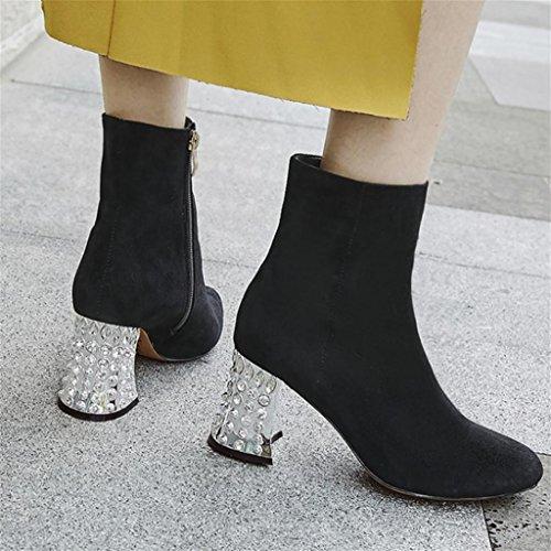 di scarpe Mnii tacco per alto colore altezza moda signore le 4xAwx8