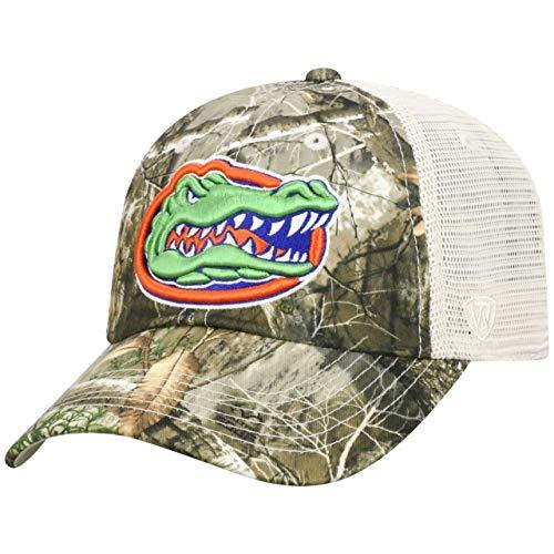Top of the World Florida Gators NCAA Sentry Adjustable Camo Meshback - Snap Gators Florida