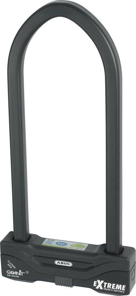Abus Granit Extreme 59/180 HB310 (12.20 inch) - Motorcycle U-lock, Security level 20 by ABUS