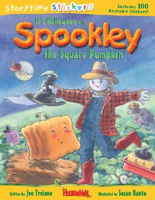 It's Halloween with Spookley the Square Pumpkin [STICKER BK-ITS HALLOWEEN W -OS]
