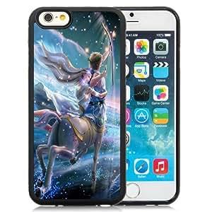 Beautiful Custom Designed Cover Case For iPhone 6 4.7 Inch TPU With Fantastic Little Sagittarius Girl Phone Case