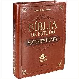 Bíblia de Estudo Matthew Henry - Marrom