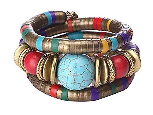 - African Bracelet Tribal Bracelet Ethnic Bracelet Rope Bracelet (Color B)