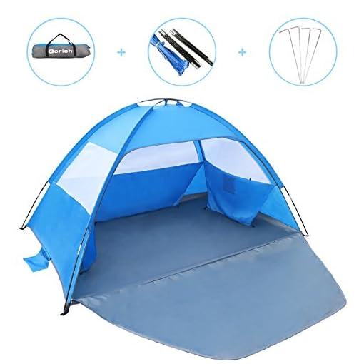 Gorich-2019-New-Beach-TentUV-Sun-Shelter-Lightweight-Beach-Sun-Shade-Canopy-Cabana-Beach-Tents-Fit-3-4-Person