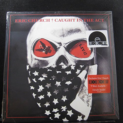 Eric Church - Caught In The Act - Lp Vinyl Record (Eric Church Caught In The Act Vinyl)