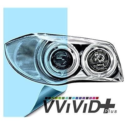 VViViD Air-Tint Blue Headlight/Tail Light Window Tint (12 Inch x 24 Inch): Automotive