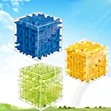 RIANZ ALL New 3D Maze Puzzle Magic Cube Labyrinth Rolling Twist Toy Challenging Puzzle Game for Adult Children - Stress Buster Game
