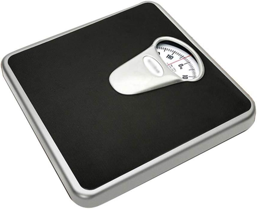 Qinmo Escala electrónica, escala mecánica Escala de pesaje electrónica para el hogar adulto preciso salud humana pérdida de peso escala de pesaje escala de puntero