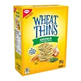 Wheat Thins Christie Spinach & Roasted Garlic Crackers, 175 Grams