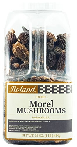 Roland Dried Mushrooms, Morel, 16 Ounce by Roland