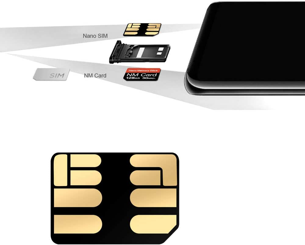 Suitable for Huawei P30P30pro and Mate20 Series NM Card Compact Flash Card 128G 128GB Speeds up to 90MB // s Nano Memory Card