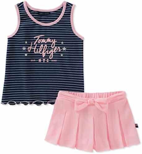 Tommy Hilfiger Girls' Shorts Set