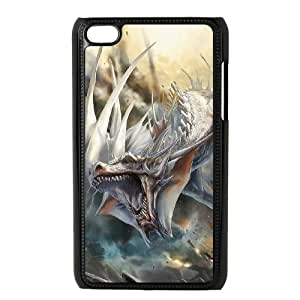 TOSOUL Phone Case Dragon,Customized Case For Ipod Touch 4