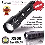 Flashlight,Baomabao 5000LM G700 Tactical LED Flashlight X800 Zoom Super Bright Military Light Lamp