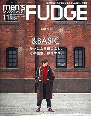 men's FUDGE - メンズ ファッジ - 2020年 11月号 Vol.126