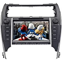 Zera® 2012-14 Toyota Camry In-Dash GPS Navigation Stereo DVD CD Player FM AM Radio 8 Touchscreen Bluetooth Hands-Free A2DP Audio Streaming AV Receiver USB SD MP3 iPod iPhone Ready Deck Head Unit