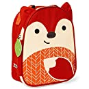 Skip Hop Baby Zoo Little Kid and Toddler Insulated and Water-Resistant Lunch Bag, Multi Ferguson Fox