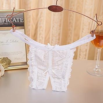 RangYR Regalo de San Valentín sexy translúcido, encajes ...