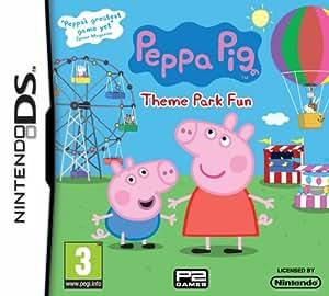 Peppa Pig - Theme Park Fun (Nintendo DS) [Importación inglesa]
