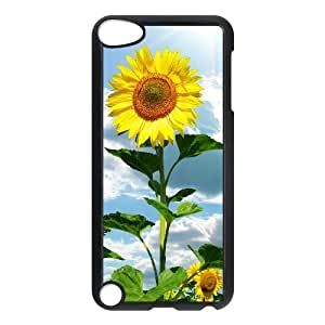 YNFYC Sunflower Shell Phone Case For Ipod Touch 5 [Pattern-1]