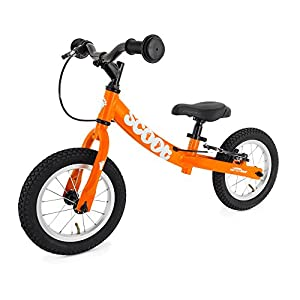 "Scoot 12"" Balance Bike in Gloss Tangerine Orange"