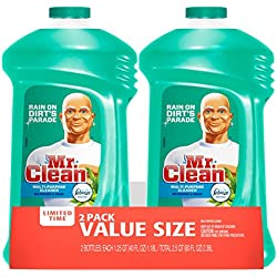 Mr. Clean with Febreze Meadows and Rain Liquid All-Purpose Cleaner, 40 Oz Twin Pack