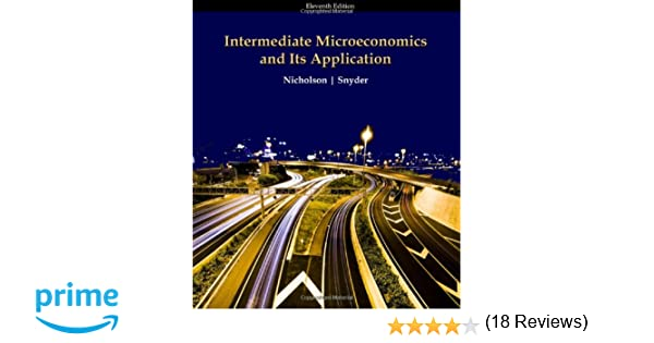 Intermediate microeconomics and its application 11th edition intermediate microeconomics and its application 11th edition 9780324599107 economics books amazon fandeluxe Image collections