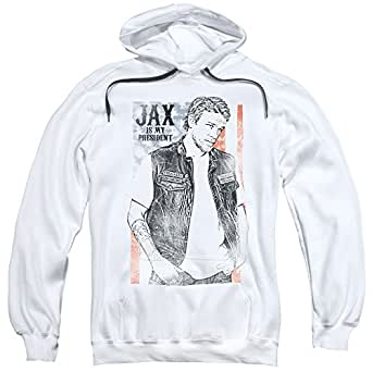 sons of anarchy mens jax president pullover. Black Bedroom Furniture Sets. Home Design Ideas