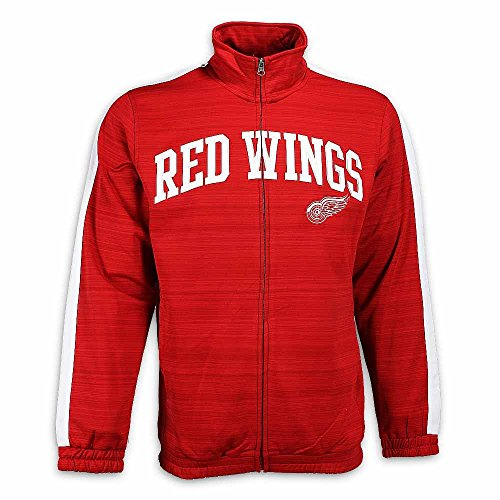 Detroit Red Wings Takeaway Track Jacket, Red, 2XL