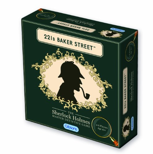 - Gibsons Games 221B Baker Street The Master Detective Game
