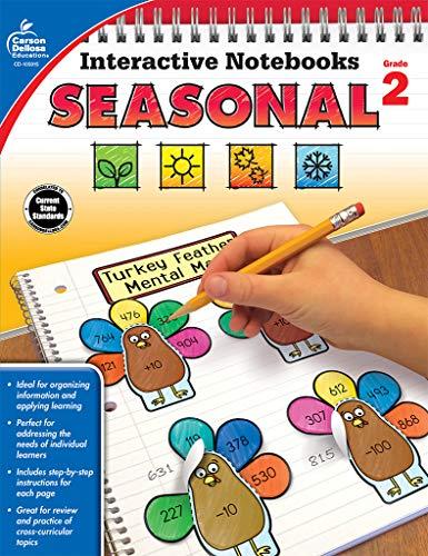 Interactive Notebooks Seasonal, Grade 2