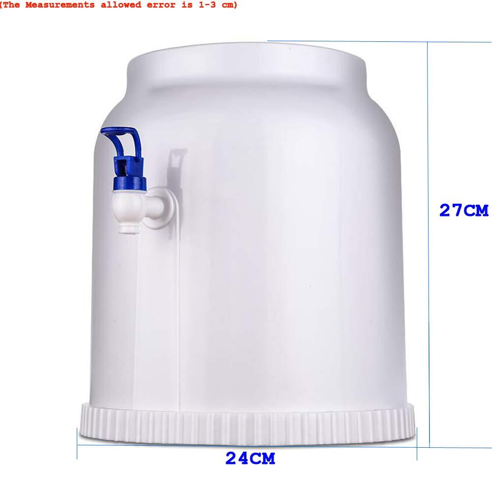 Dispensador de agua invertido interior y al aire libre portátil simple con el golpecito, bebedor de agua de la botella del cubo para la fiesta de oficina ...