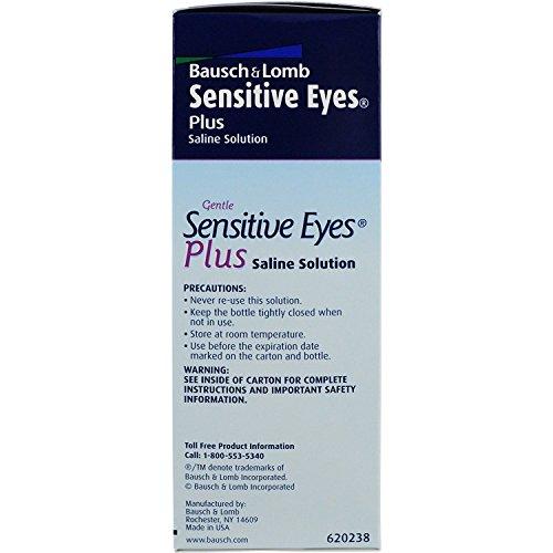 Bausch and Lomb Sensitive Eyes Saline Solution 12 Fl Oz (355ml)