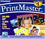 Software : Broderbund PrintMaster Version 18.1
