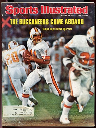 (Sports Illustrated Magazine - The Buccaneers Come Aboard: Tampa Bay's Steve Spurrier [August 23, 1976])