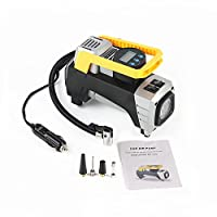 Auto portable Air Compressor Tire Inflator, Digital Air Compressor Pump for car tires, 12V 150 PSI Tire Pump for Car, Truck, Bicycle, RV and Other Inflatables