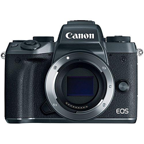 Canon EOS M5 Mirrorless Digital Camera (Body Only) Black 1279C001 - (Renewed)