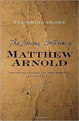 matthew arnold literary criticism