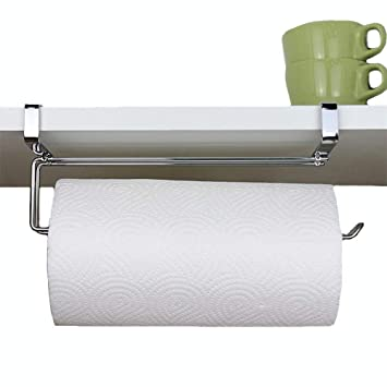 Amazoncom Pano Updated Size Paper Towel Holder Under Cabinet