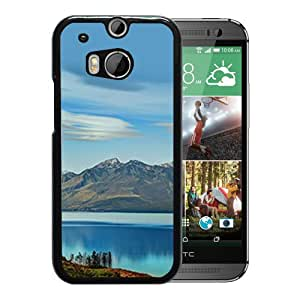 New Custom Designed Cover Case For HTC ONE M8 With South Island New Zealand Nature Mobile Wallpaper 2 Phone Case